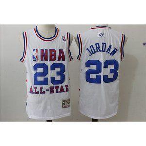 Washington Wizards Michael Jordan White Jersey (2)